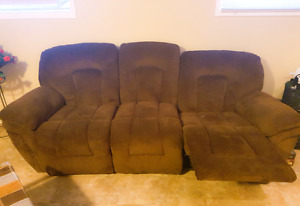 Moving sale- couch sectional coffee table dinning table tvstand