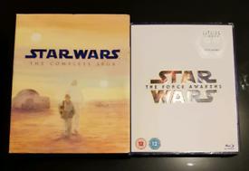 Star Wars - The Complete Saga, Star Wars - The Force Awakens Blu-ray
