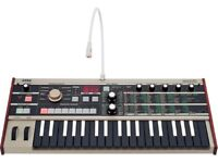 Korg Microkorg Synthesiser - Rare Limited Edition Reverse Keys