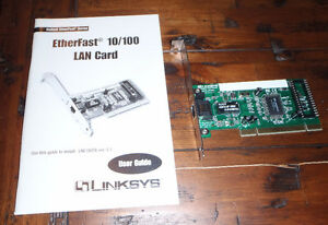 Linksys EtherFast 10/100 PCI Ethernet Card