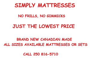 DON'T MISS OUT ON THESE MATTRESS PRICES!!