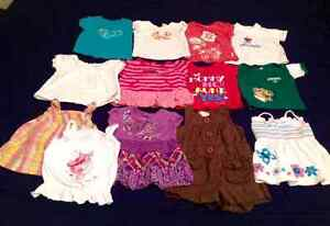 Baby girl clothes 86 items...