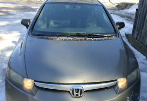 2008 Honda Civic Sedan with new front and rear breaks