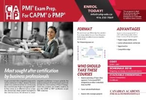 PMI Exam Preparation Course for PMP& CAPM May 19, 2018