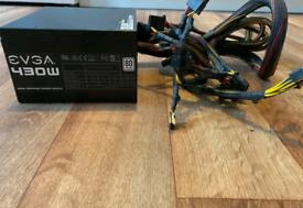 EVGA 430w 80+ ATX Power Supply Unit (PSU)100-W1-0430