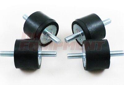 Wacker VPG155 VPG160 Metric Thread Shockmount - 4 Pack - Wacker OEM Part 0029044
