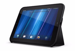 HP Touchpad - with case, size: 7'5 x 9'5