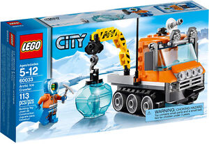 LEGO CITY, ARCTIC: Arctic Ice Crawler #60033