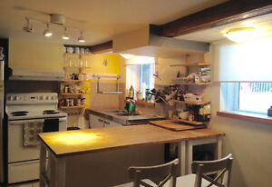 Fully furnished 1 bedroom apartment, garden suite - Lower Uphill
