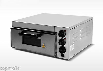 Commercial Electric Pizza Oven With Timer For Making Bread Cake Pizza 1 Layer