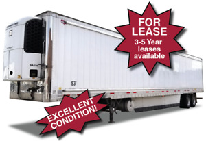 53' REEFER TRAILERS - FOR LEASE or SALE