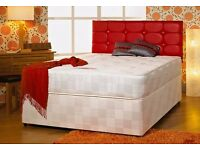 brand new king size bed mattress and headboard with luxury mattress orthopaedic or memory foam