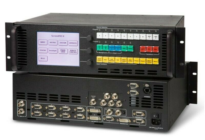 Barco Screen-Pro II 2 HD Video Seamless Switcher HD-SDI, DVI Folsom