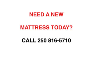 NEED A MATTRESS OR SET TODAY?