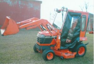 Kubota BX2200 HST compact with loader,mower, cab
