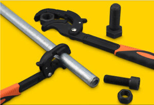 A set of multi-functional fast pipe wrench (brand new)
