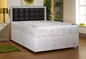 HIGH QUALITY BED BRAND NEW Luxury Super Orthopedic Double Bed Base And Mattress