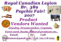 Exhibitors, Product Vendors wanted for the Havelock Psychic Fair