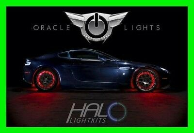 RED LED Wheel Lights Rim Lights Rings by ORACLE (Set of 4) for CADILLAC MODELS