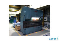 ALLSTEEL Hydraulic Press Brake 120Tons 10'