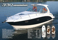 Chaparral Signature Cruisers 270, 290, 310 and 330