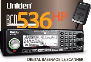 Uniden BCD536HP Police Scanner (New)