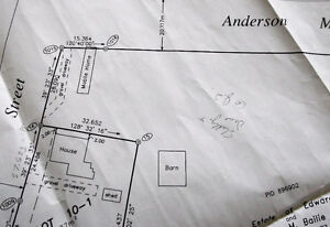 Serviced corner lot in Middle Sackville,Tantramar Marsh view