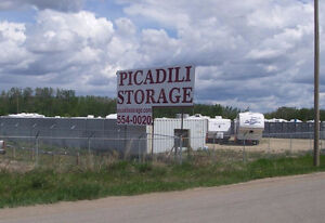 RV & BOAT STORAGE $25/ MONTH ! 5 MINS NORTH OF ST ALBERT