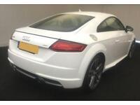 2016 WHITE AUDI TT 2.0 TDI ULTRA S LINE DIESEL 2DR COUPE CAR FINANCE FR £75 PW
