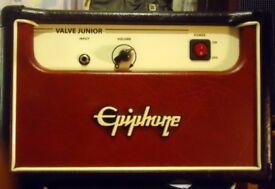 EPIPHONE VALVE JUNIOR GUITAR AMP HEAD - RETRO STYLED