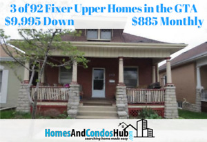 ID #1499 Best Listed 92 Fixer Upper Homes in the Greater Toronto