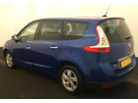 2011 RENAULT GRAND SCENIC 1.5 TD DYNAMIQUE GOOD BAD CREDIT CAR FINANCE AVAIL