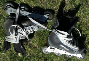 Roller Skates: Bauer Supreme: Good condition, Size 3, $25