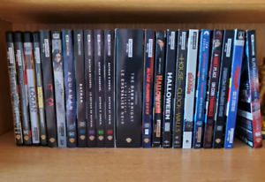 Blu Ray Steelbook Movie Collection 4K & More