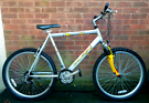 "Raleigh Max bike,front suspension,26""wheels"