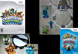 Skylanders Trap Team & Swap Force sets (Nintendo Wii) $15 each