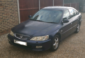 52 Accord Blue, Running, ideal for parts, spares/repairs