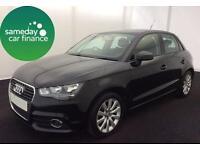 ONLY £233.93 PER MONTH BLACK 2013 AUDI A1 1.6 TDI SPORT DIESEL MANUAL 5 DOOR