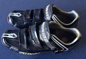 Specialized Pro carbon fibre road shoes (43)