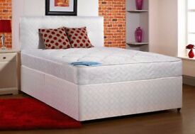 brand new small double bed in white -----------free delivery