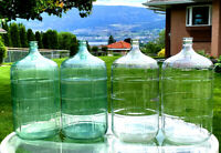 Large glass carboys for sale