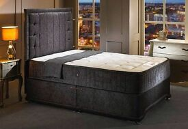 *****BRAND NEW***** KINGSIZE+ Carlton Luxury+Pocket Spring + FULL SET BED*****