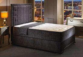 *****BRAND NEW***** KINGSIZE+ Carlton Luxury+Pocket Spring + FULL SET BED*****