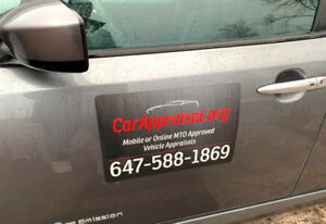 $40 MTO Approved Car Appraisals- Mobile Available - Save Money