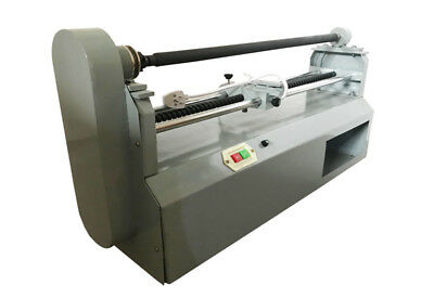 New 110v Electric Hot Foil Paper Cutter Paper Roll Slitter Stamping Embossing