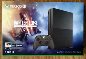 Battlefield One Xbox One 1TB Military Green Bundle Console