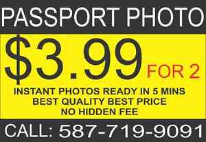 ****PASSPORT PHOTOS**** $3.99**** 587-719-9091**NO HIDDEN FEE