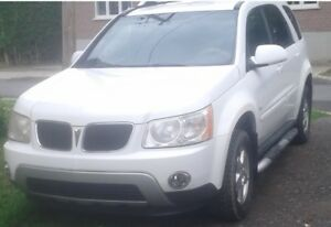 2007 Pontiac Torrent 4 x 4 pas de rouille VUS full equipe