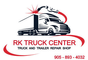 truck parking and mechanic shop