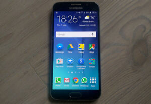 samsung galaxy s6 edge,propre,32G,16MP,ANDROID,fonctionnel,unloc